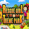 игра Девочка спасения от тематического парка