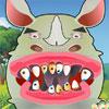 игра Носорог зубов проблемы