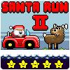 игра Санта бежать 2