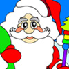 игра Санта-Клаус раскраски