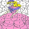 игра Shy princess coloring