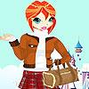 игра Sindy winter clothes dress up