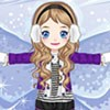 игра Snow Angel Dress Up Game
