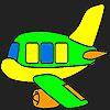 игра Специальный самолет раскраски