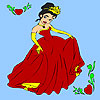 игра Spring prom princess coloring