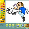 игра Sports coloring pages