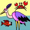 игра Stork Fishing