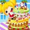 игра Супер сладкого Рождественский торт