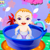 игра Sweet Baby Bathing