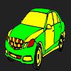 игра Большие фирмы автомобиля окраску