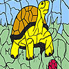 игра Turtle and ball coloring