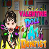 игра Valentine Doll at the Dentist