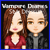 игра Дневники вампира стиль одеваться