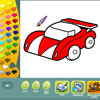 игра Vehicles coloring pages