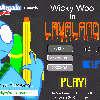 игра Wicky Ву в лаве земли