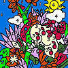 игра Zoo garden coloring