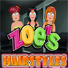 игра Zoes Hairstyles